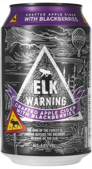 Elk Warning with Blackberries