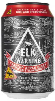 Elk Warning with Wild Strawberries