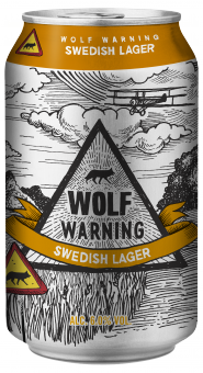 Wolf Warning Swedish Lager
